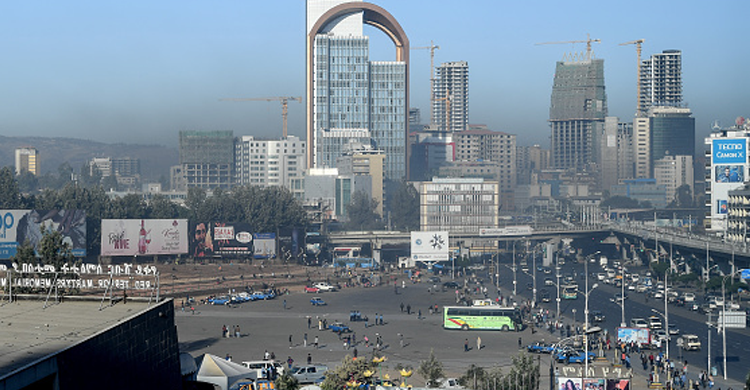 Chinese firm works on project to beautify Ethiopia's capital