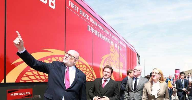 Freight trains bring new fourtune to Eurasia